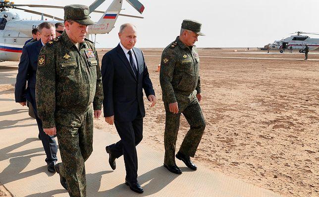 Władimir Putin na ćwiczeniach Kaukaz 2020