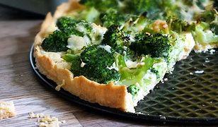 Tarta z brokułami