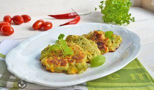 Placuszki z brokułami i kukurydzą. Rumiane i chrupiące