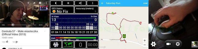 YouTube / GPS Test w mieszkaniu / RunKeeper / aplikacja do zdjęć
