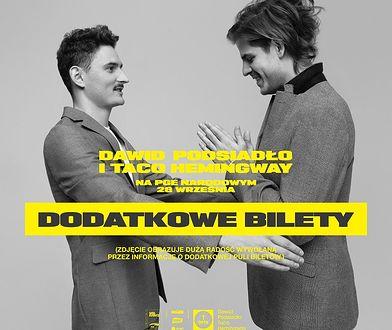 Dawid Podsiadło i Taco Hemingway zagrają razem na Stadionie PGE Narodowym