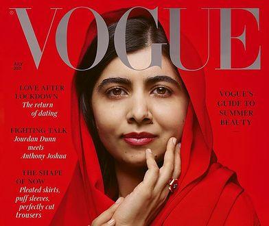 """Malala Yousafzai na okładce """"Vogue'a"""". Pakistanka udzieliła poruszającego wywiadu"""