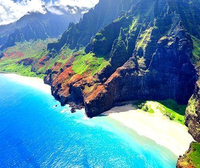 Rajska wyspa Kauai na Hawajach liczy sobie 6 mln lat