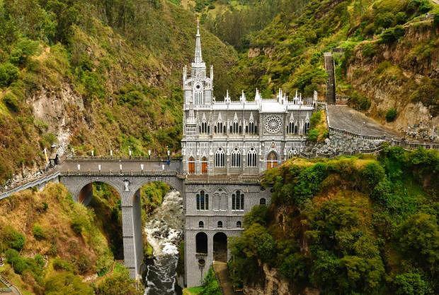 Las Lajas, Kolumbia