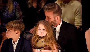 """David Beckham skrytykowany za całowanie córki w usta. """"To dla nas zupełnie naturalne!"""""""