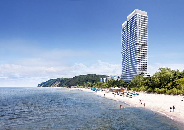Taki hotel ma stanąć na plaży w Międzyzdrojach