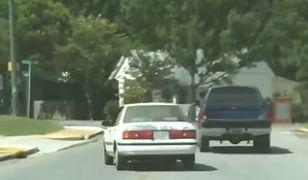 Holowanie samochodu bez kierowcy