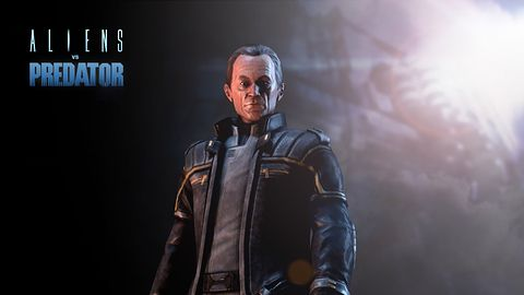 Lance Henriksen w Aliens vs Predator