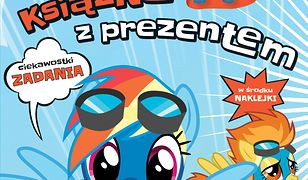 My Little Pony. Książka z prezentem. Rainbow Dash