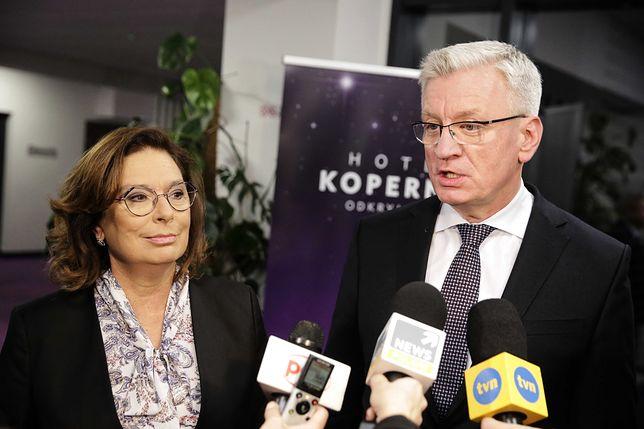 Starcie Małgorzata Kidawa-Błońska - Jacek Jaśkowiak. W regionach górą posłanka PO