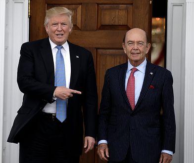 """""""Paradise Papers"""" to duży cios w Wilbura Rossa, sekretarza ds. handlu i znajomego Donalda Trumpa"""