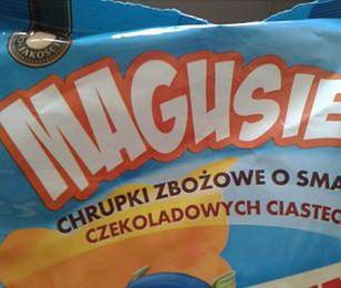 Magusie mogą mieć plastik zamiast chrupek