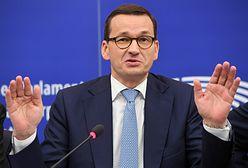 Incydent podczas debaty w PE z Morawieckim. Stanowcza reakcja europosła PiS