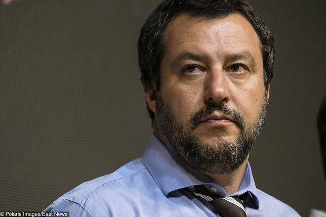Kolejny cios Salviniego w migrantów. Milion euro kary za ratowanie ludzi na morzu. Oburzenie ONZ