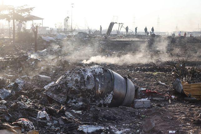 Katastrofa samolotu w Iranie. Wołodymyr Zełenski: wersja o zestrzeleniu boeinga niepotwierdzona