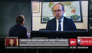 Koronawirus. Polska przyjmie ofertę pomocy z Niemiec? Wiceszef MSZ o szczegółach
