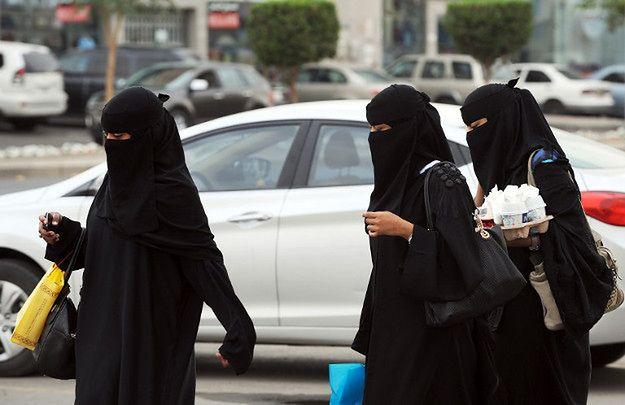 Saudyjskie kobiety