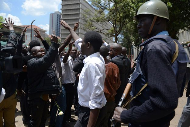 Protest Kenijczyków przeciwko nieefektywnej walce rządu z terrorystami
