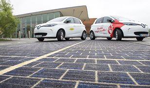 Francuzi testują drogę wyłożoną panelami słonecznymi