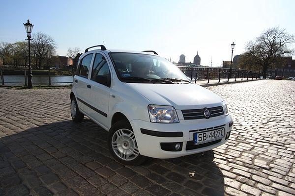 Miejsce 1 - Fiat Panda