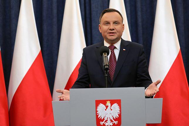 Andrzej Duda podpisał ustawy o KRS i SN