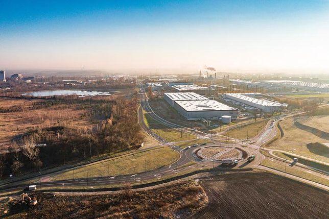 W Gliwicach zakończono prace przy budowie kolejnego odcinak obwodnicy południowej.