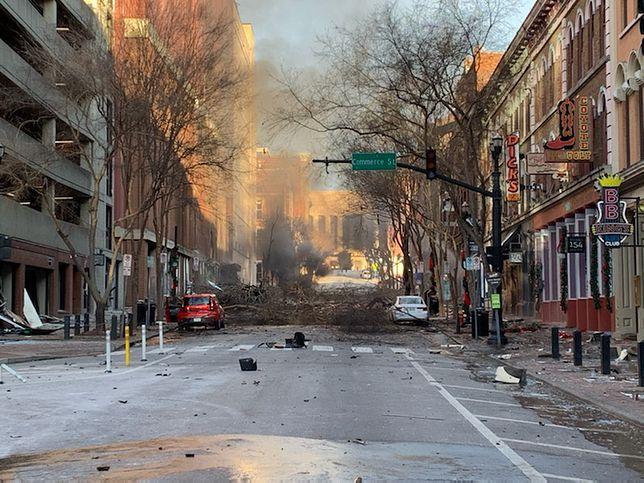 USA. Potężna eksplozja w Nashville