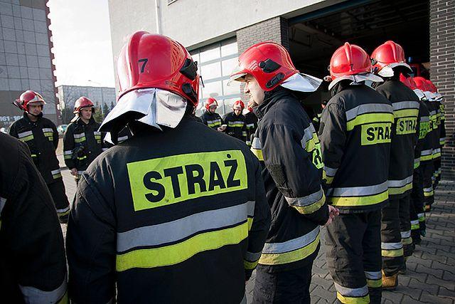 Wypadek w Rudziczce: 4 strażaków rannych