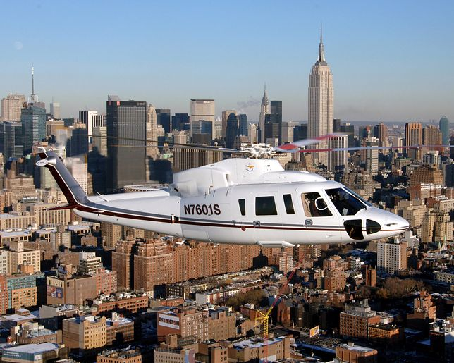 Sikorsky S-76 - śmigłowiec VIP-ów i prezesów. Zginął w nim Kobe Bryant