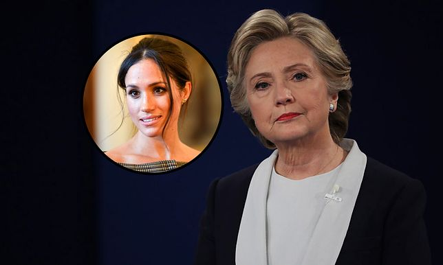 Meghan Markle zawsze mogła liczyć na wsparcie Hillary Clinton