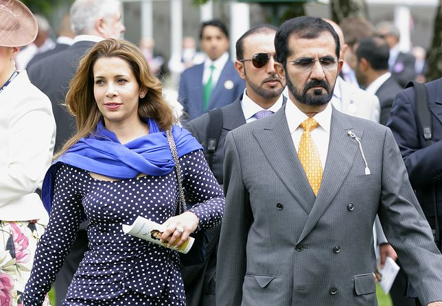 Księżniczka Haya z mężem, emirem Dubaju