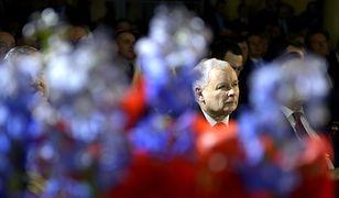 Prezes Kaczyński: rządzi z tylnego fotela