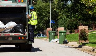 Curb side trash collection for the landfill, then the recycle bin for paper, plasric, metal and glass.