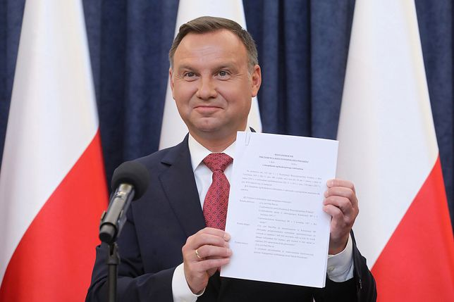 Jeśli limit zostananie zlikwidowany, Andrzej Duda może mieć emeryturę wyższą o 7 tys. zł wyższą