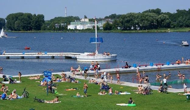 Sanepid skontrolował czystość wody w poznańskich jeziorach
