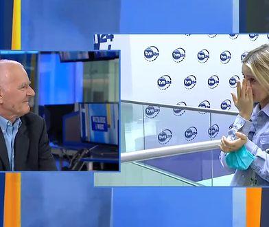 Wzruszające sceny na antenie TVN24. Wojciech Raczyński po 24 latach odchodzi z telewizji