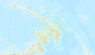 Papua - Nowa Gwinea: silne trzęsienie ziemi u wybrzeży Nowej Irlandii