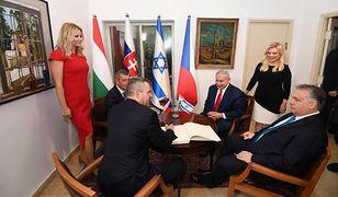 Spotkanie polityków w rezydencji premiera Izraela