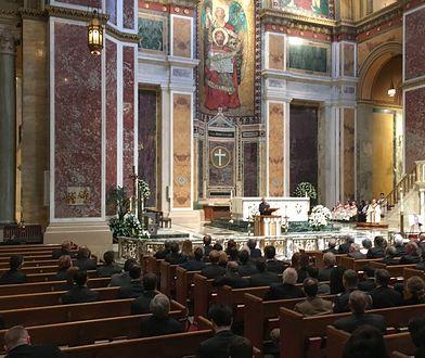 Uroczystości pogrzebowe prof. Zbigniewa Brzezińskiego w katedrze św. Mateusza Apostoła w Waszyngtonie.