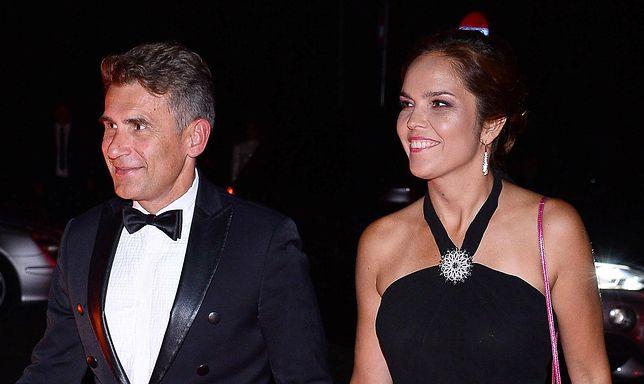 Robert Korzeniowski z żoną