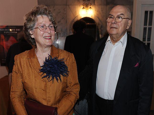 Irena Santor z partnerem