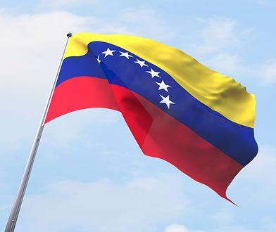 Flaga Wenezueli.