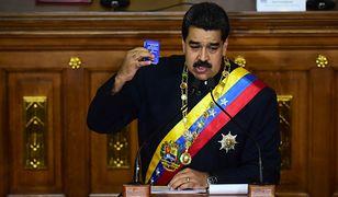 Prezydent Wenezueli Nicolas Maduro.