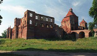 Zamek w Szymbarku zbudowano w XIV wieku