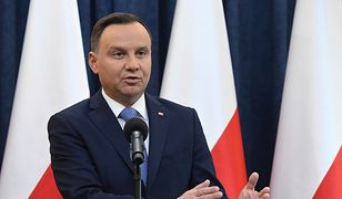 Decyzję o zawetowaniu ustawy prezydent Andrzej Duda ogłosił w piątek