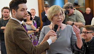 """Kurator Barbara Nowak uważa, że urządzono na nią """"polowanie"""""""