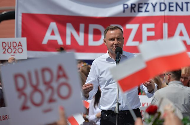 Wybory prezydenckie 2020. Andrzej Duda zachęcał do udziału w wyborach