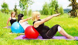 Ćwiczenia w ciąży mają korzystny wpływ na zdrowie przyszłych mam.