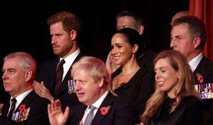 Księżna Sussex towarzyszy mężowi na Festival of Remembrance