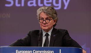 Koronawirus. Unijny komisarz Thierry Breton: Polska blokuje unijny eksport leków i środków ochrony